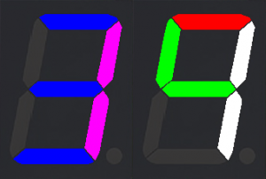 2-digit geek clock